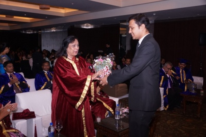 Convocation day degree distribution